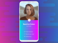 Minimal User Profile UI - Day 27