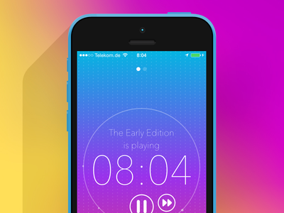 The Early Edition by Capsule.fm - App Design app audio app design design interface interface design