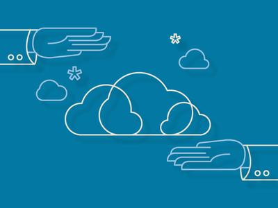 Managed Cloud Services Illustration