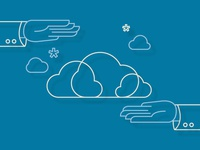 Managed Cloud Services Illustration