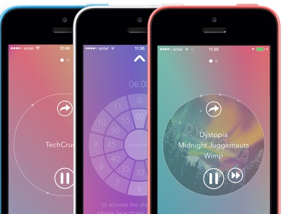 Capsule.fm Design Update ui mobile digital design app branding user interface