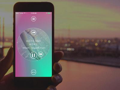 Capsule.fm Interface Redesign ui ux mobile ios digital design user interface app iphone app