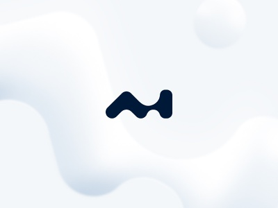 How will AI Shape the future? visual identity ai artificialintelligence shape logo branding