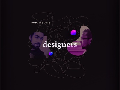 Explorations at night visual branding paths shapes outlines organic designers