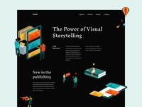 Storytelling Page