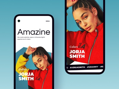 Zine magazine zine editorial landing exploration branding layout typography