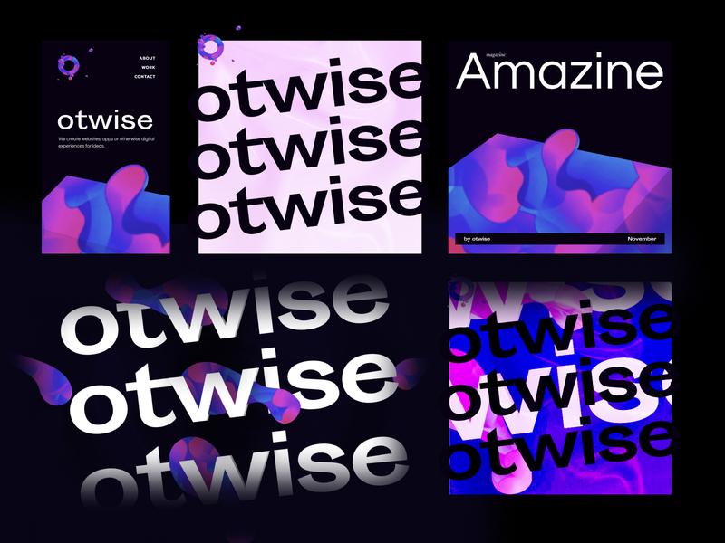 Brand Exp logo dark branding exploration layout typography