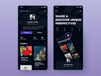Amazine Profile & Story Cover