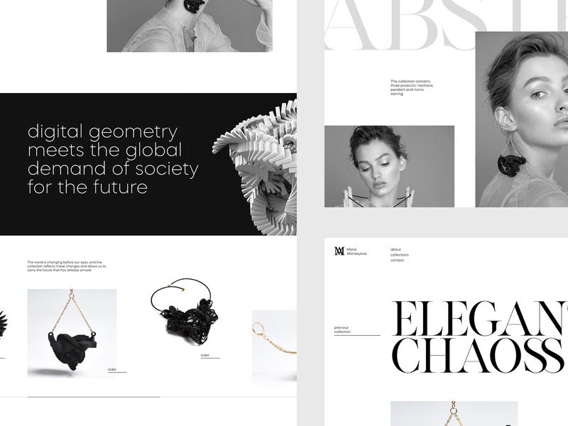 Afanasieva jewelry designer design web jewelry minimal