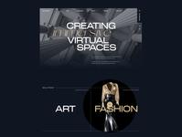 Emperia VR fragments 6 vr corporate brutalism awwwards web animation ux ui minimal