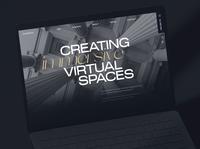 Emperia VR fragments 8 vr corporate brutalism awwwards web animation ux ui minimal
