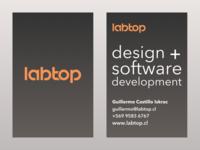Labtop Business Card