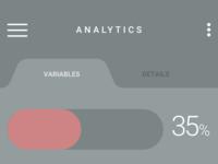 Upos Analytics Mobile Dashboard v2