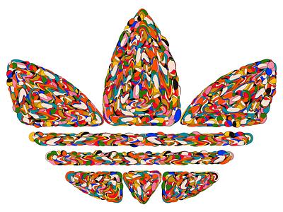 Originals art colourful creative logo experiment illustration