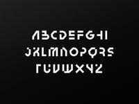 Technik - Display Font WIP