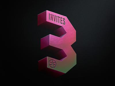Dribbble invites design play shot draft dribbble invites