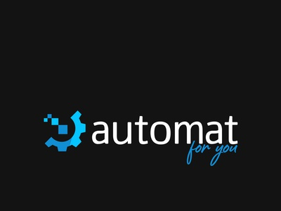 Automate for you - Logo - Business Card typography branding ui illustration graphic design logo design business card branding and identity logo design
