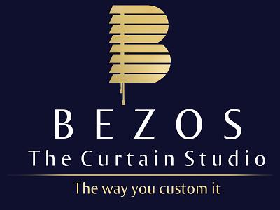 Bezos the curtain studio - Logo - Business Card logo illustration design branding graphic design business card branding and identity logo design