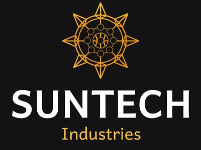 Suntech Industry - Logo - Business Card vector ui design illustration logo branding graphic design business card branding and identity logo design