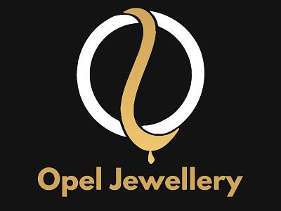 Opel Jewelry - Logo - Business Card ui vector illustration design logo branding graphic design business card branding and identity logo design