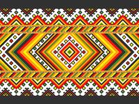 Ukranian pattern (Xenia Kolotylo).