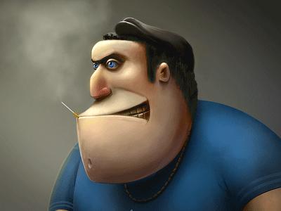 Сhav (character concept) illustration character concept
