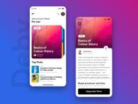 Deby | A focussed reading app in flutter