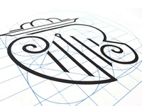 VR Logo design