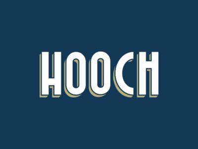 Hooch Logo Design vector illustration vector drawing vector design vector art vector logo design logo designer logo