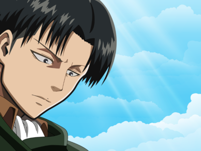 Levi From Attack on Titan Vector Art