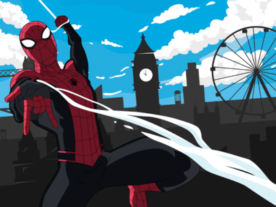 Spider-Man: Far From Home Vector Art
