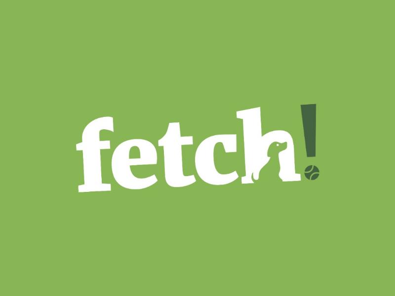 Fetch! Logo Design vector design vector drawing vector graphics vector illustration vector art vector drawing design graphic designer graphic design logo designer logo design logo