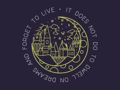 Hogwarts Logo Art