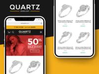 Quartz - Jewellery Ecommerce Ecommerce Theme