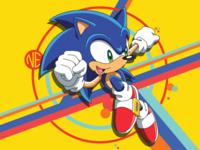 Sonic The Hedgehog Vector Art