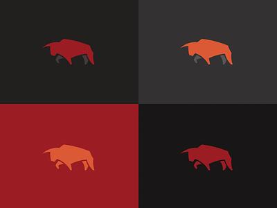 Bull: Colour Exploration logo mark pantone colour exploration bull
