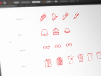 Apparel Icon Set