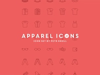 40 Apparel Icons