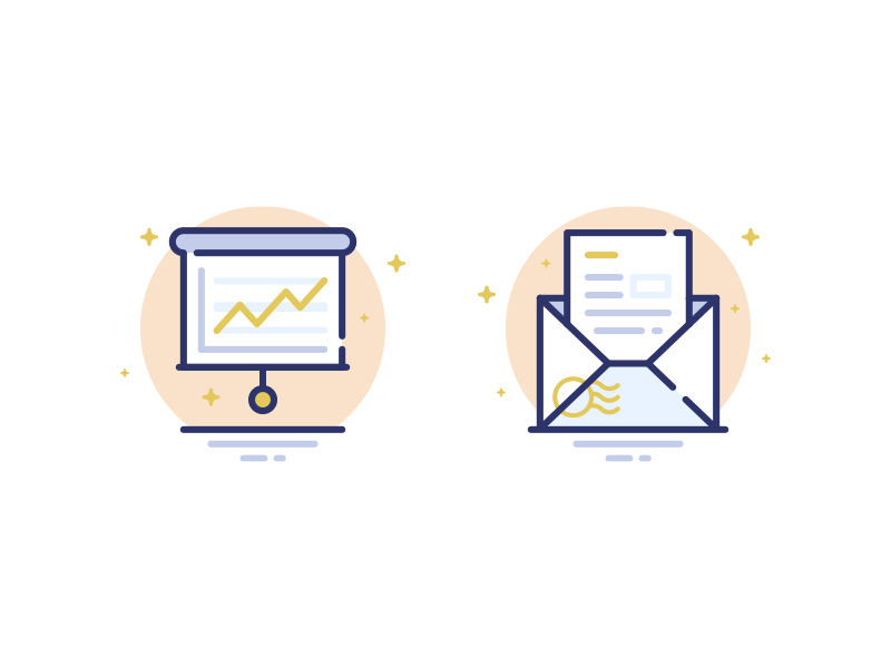 Business finance dribbble