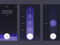 Water intake dribbble 2x