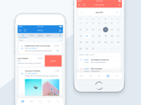 Email App UI Kit for Sketch