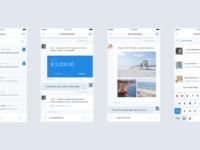 Messaging 2x screens