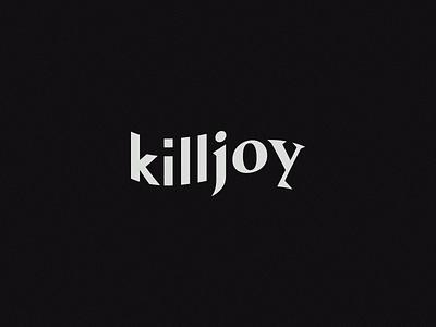 Killjoy wave warp serif sans-serif killjoy wordmark logotype logo