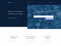 Homeapage dribbble 2x