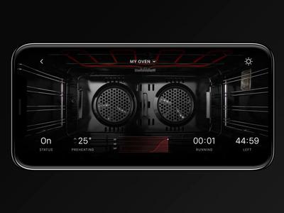 IoT Oven Range App