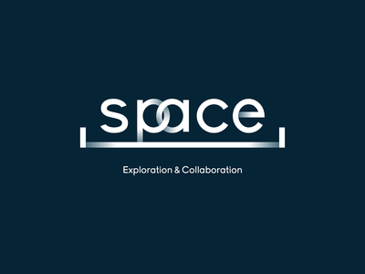 Space - Collaborative Workspace thirty logos challenge thirty logos thirty day logos vector typography 2d space exploration explore identity thirtylogos wework colab collaborate collaboration workspace lockup branding logo logochallenge space