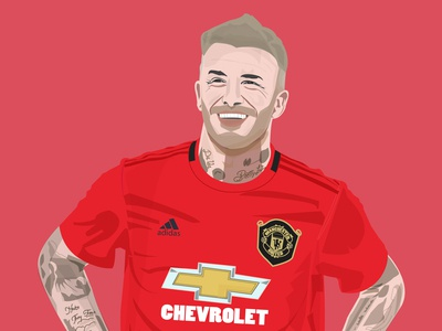 Illustration - David Beckham