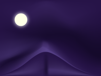 Night with moon