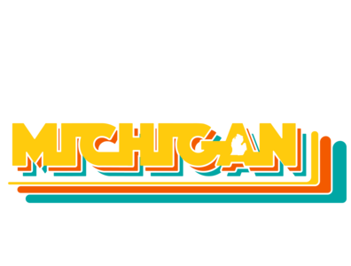 Michigan 80's Arcade logo