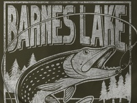 Barnes Lake Pike T